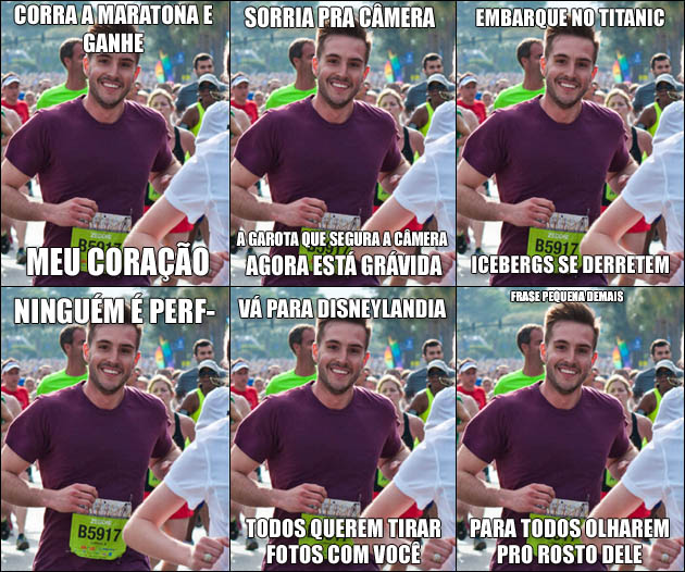 COMP Já ouviu falar do Ridiculously Photogenic Guy?