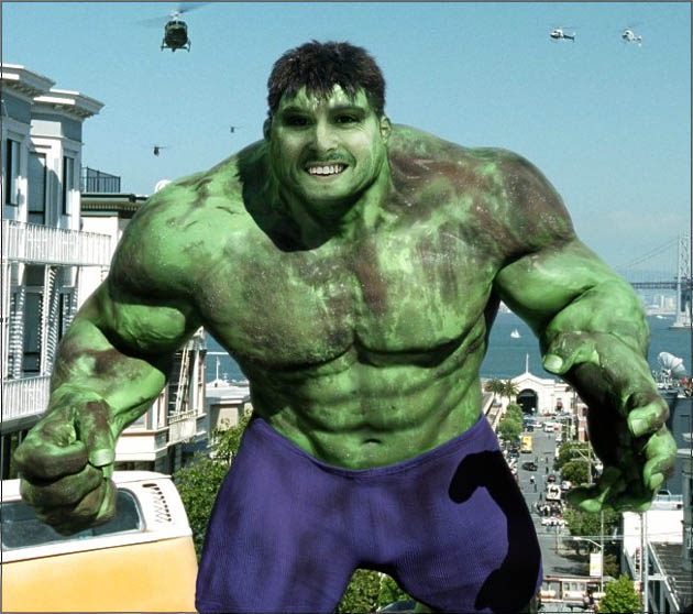 hulk bobagento Já ouviu falar do Ridiculously Photogenic Guy?
