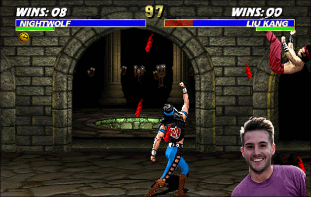 mortal kombat bobagento Já ouviu falar do Ridiculously Photogenic Guy?