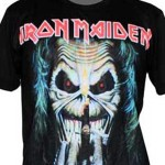Minha camiseta do Iron Maiden