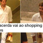 Thiago Lacerda compra chocolates no shopping