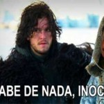 Jon Snow provando que o bordão é real