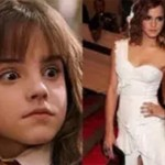 Elenco de Harry Potter antes e depois