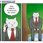 As aventuras do Business Cat