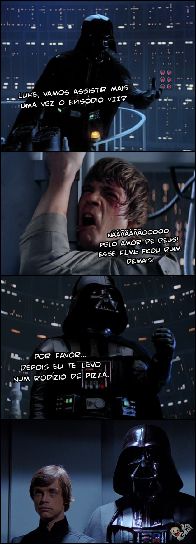 luke e darth